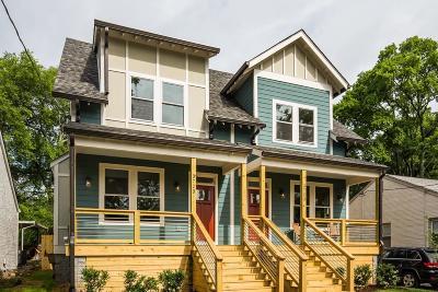Nashville Single Family Home For Sale: 3723 B Burrus St