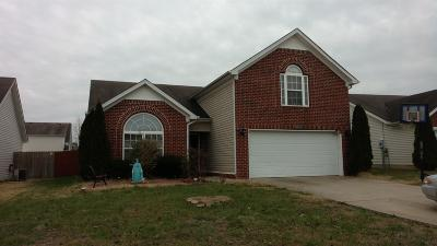 Spring Hill Single Family Home Under Contract - Showing: 3010 Deer Trail Dr