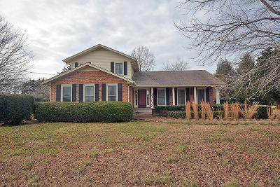 Smyrna Single Family Home For Sale: 6011 Florence Rd