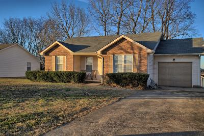 Clarksville TN Single Family Home Under Contract - Showing: $114,900