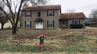 Franklin Single Family Home Under Contract - Showing: 1008 Boxwood Dr