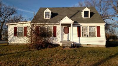Smithville TN Single Family Home For Sale: $69,900