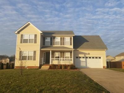 Clarksville Single Family Home For Sale: 1329 Sunfield Dr