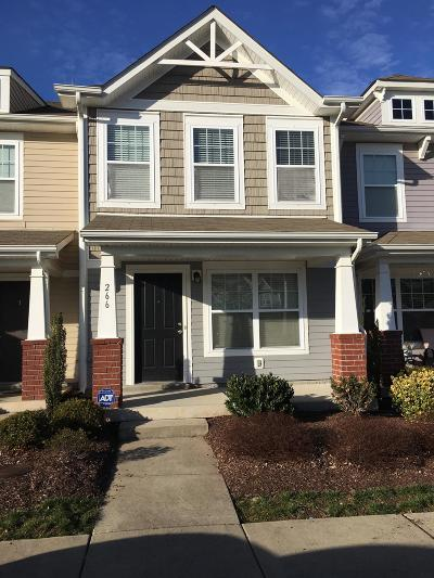 Condo/Townhouse Under Contract - Showing
