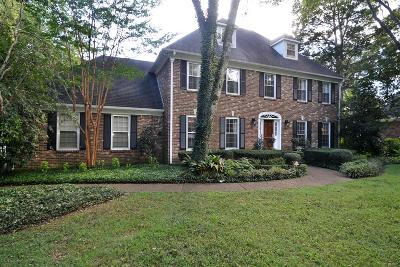 Murfreesboro Single Family Home For Sale: 1703 Waterford Rd
