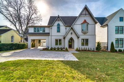 Nashville Single Family Home For Sale: 1625 S Observatory Dr