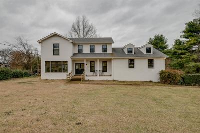Brentwood TN Single Family Home Under Contract - Showing: $695,000