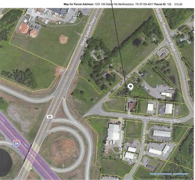 Murfreesboro Residential Lots & Land For Sale: 1231 Old Salem Rd