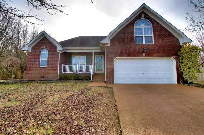 Mount Juliet Single Family Home Under Contract - Showing: 434 Parrish Hl