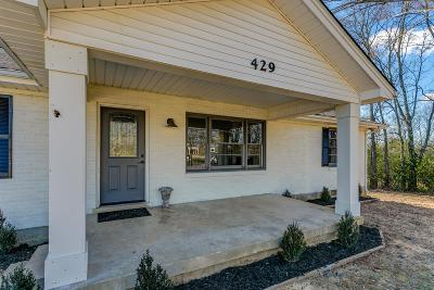 Spring Hill Single Family Home Under Contract - Showing: 429 Beechcroft Rd