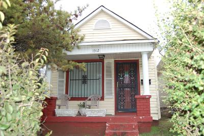 Single Family Home For Sale: 1512 B 14th Avenue N