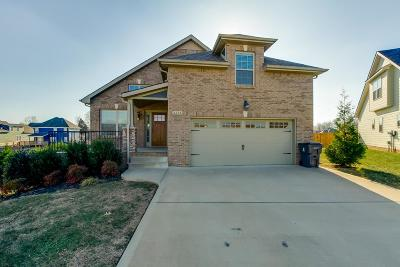 Clarksville Single Family Home Under Contract - Showing: 2236 Fairfax Dr