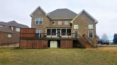 Spring Hill Single Family Home For Sale: 3198 Appian Way