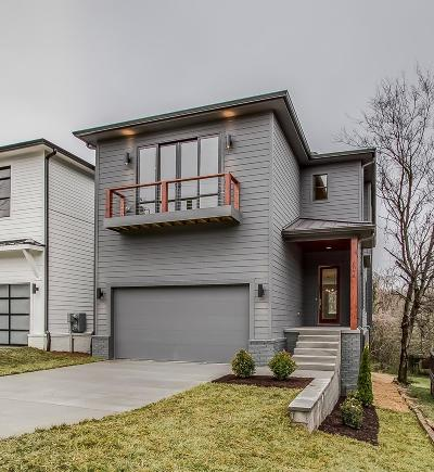 Nashville Single Family Home For Sale: 807 A Porter Rd