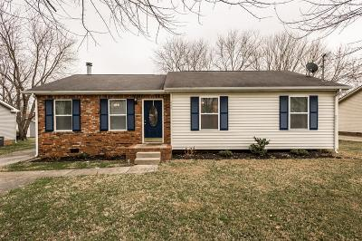White House Single Family Home For Sale: 606 Calista Rd