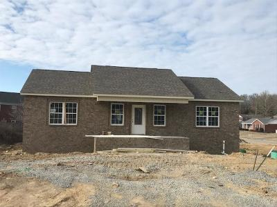 Ashland City Single Family Home Under Contract - Showing: 100 Carls Pl