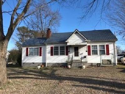 Shelbyville Single Family Home For Sale: 1209 S Cannon Blvd