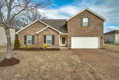 Mount Juliet Single Family Home Under Contract - Showing: 8022 Meadowview Ln