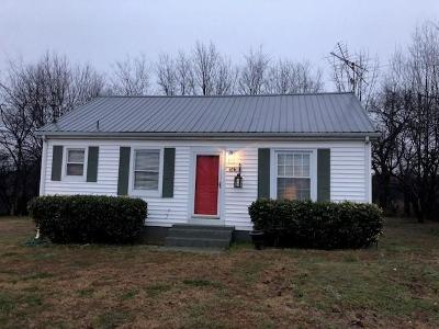 Shelbyville Single Family Home Under Contract - Showing: 616 Warner Bridge Rd