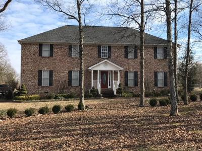 Murfreesboro Single Family Home For Sale: 9658 Old Lebanon Rd