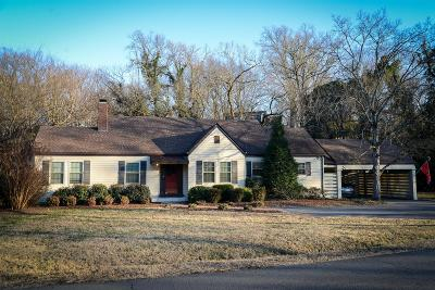 Single Family Home For Sale: 3606 General Bate Dr