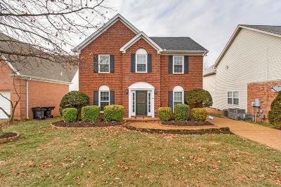 Franklin Single Family Home Under Contract - Showing: 109 Stanwick Dr