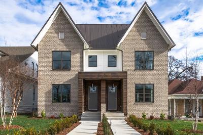 Nashville Single Family Home For Sale: 1906 Beech Ave B