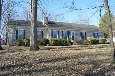 Dickson Single Family Home Under Contract - Showing: 112 Redbud Dr