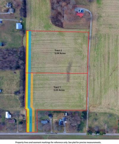 Robertson County Residential Lots & Land For Sale: 1 Cross Plains Rd