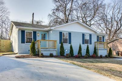 East Nashville Single Family Home For Sale: 2312 Hidden Terrace Ct