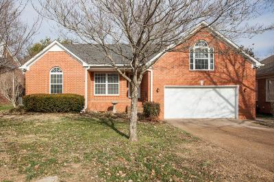 Franklin Single Family Home Under Contract - Showing: 2204 Winder Cir