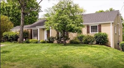 Single Family Home For Sale: 828 Woodmont Boulevard
