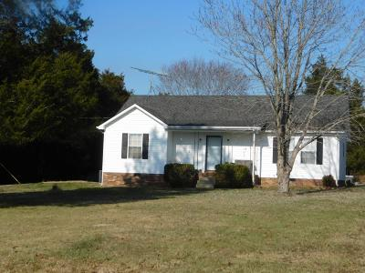 Lewisburg Single Family Home For Sale: 2556 New Columbia Hwy