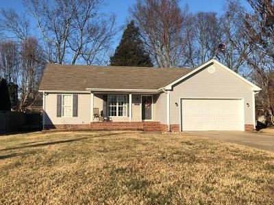 Christian County Single Family Home For Sale: 324 Creekview