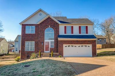 Mount Juliet Single Family Home Under Contract - Showing: 2307 N Cromwell Ct