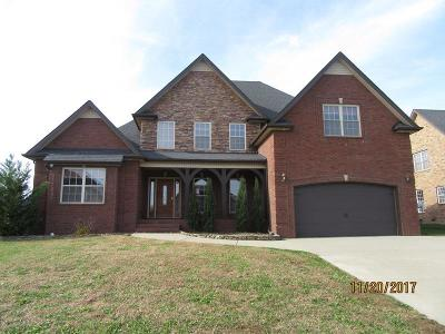 Clarksville Single Family Home Under Contract - Showing: 2536 Remington Trc