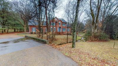 Franklin Single Family Home Under Contract - Showing: 1029 Cedarview Ln