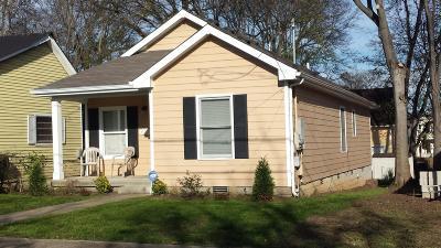 Nashville Single Family Home For Sale: 922 Morrison St