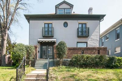 Nashville Single Family Home For Sale: 704 18th Ave South