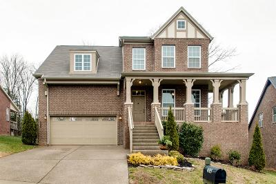 Nolensville Single Family Home Under Contract - Showing: 4685 Sawmill Place