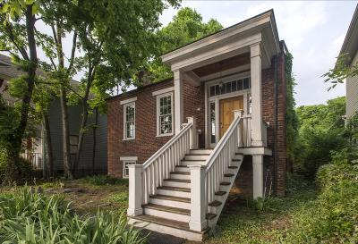 Nashville Single Family Home For Sale: 1406 5th Ave N
