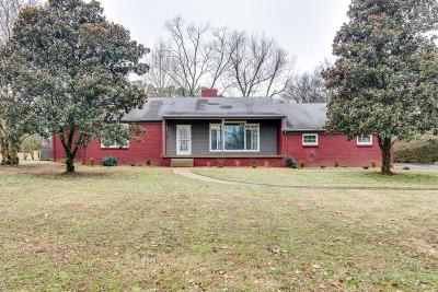 Hendersonville Single Family Home For Sale: 251 Old Shackle Island Rd