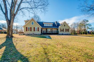Gallatin Single Family Home For Sale: 1038 Bradley Rd