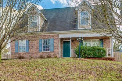 Lavergne Single Family Home Under Contract - Showing: 2014 Zion Ln