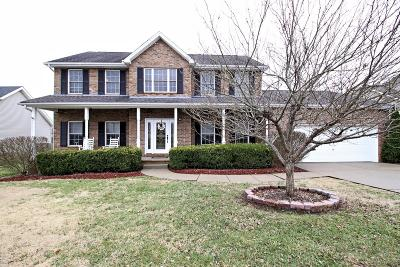 Spring Hill Single Family Home Under Contract - Showing: 1310 Carmack Ct