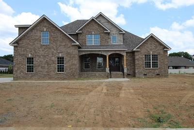Murfreesboro Single Family Home For Sale: 2303 Lionheart Dr (Lot 266)