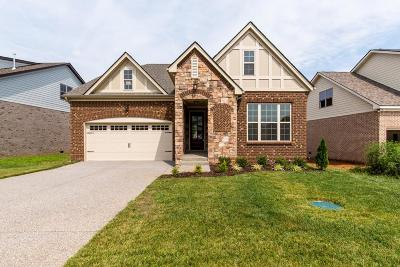 Mount Juliet Single Family Home For Sale: 14 Hope Court Lot 79 Mv