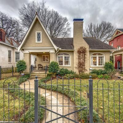 Nashville Single Family Home Under Contract - Showing: 4607 Park Ave