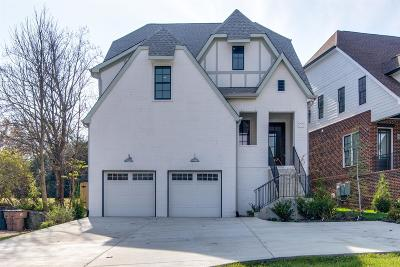 Nashville Single Family Home Under Contract - Showing: 3915 Caylor Dr