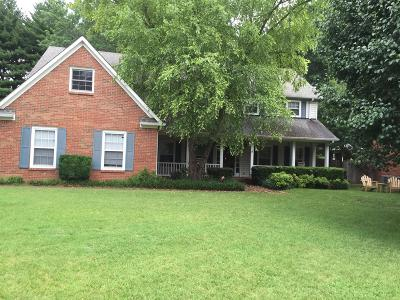Franklin Single Family Home For Sale: 1560 Kinnard Dr